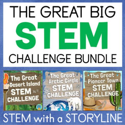 Great Big STEM Challenge Bundle