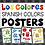 Thumbnail: Los Colores Spanish Colors Posters