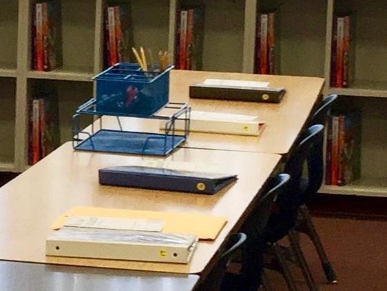 classroom setup student tables