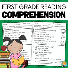 First Grade Reading Comprehension Passages and Questions