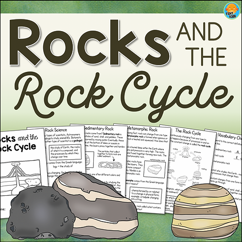 Rocks and the Rock Cycle Interactive Science Activity Book