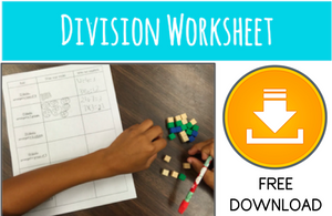 free division worksheet