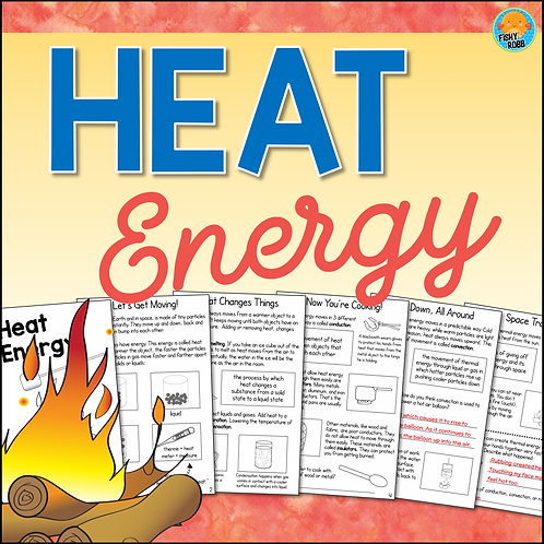 Heat Energy Interactive Science Activity Book