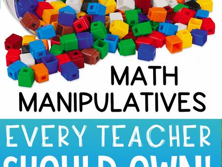 10 Math Manipulatives EVERY Teacher Needs
