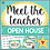 Thumbnail: Meet the Teacher - Open House