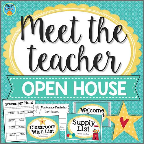 Meet the Teacher - Open House