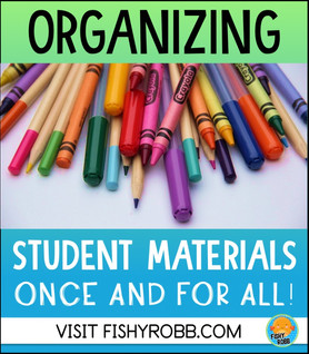 How to Organize Student Materials and Keep Them That Way!