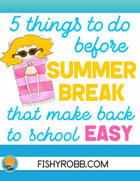 5 Things To Do Before Summer Break