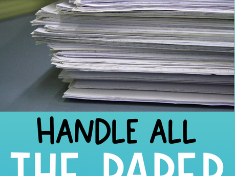 Easy Ways to Manage Student Work and All Those Papers