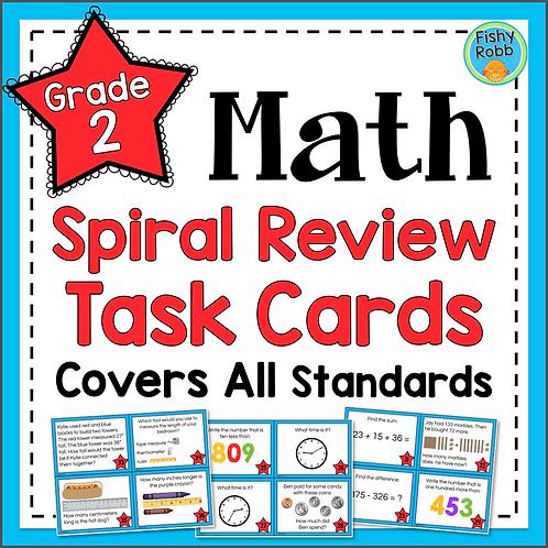 Grade 2 Math Task Cards ALL STANDARDS