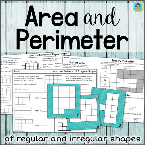 Area and Perimeter of Regular and Irregular Shapes