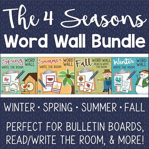 Write the Room Through the Year BUNDLE All 4 Seasons