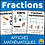 Thumbnail: Fractions FRENCH Math Posters Affiches
