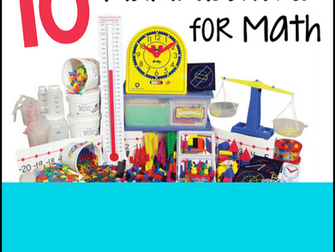 Math Manipulatives That EVERY Teacher Needs