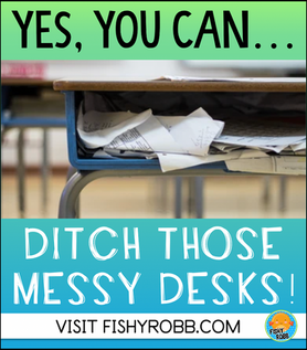 The Easy Solution to Messy Student Desks