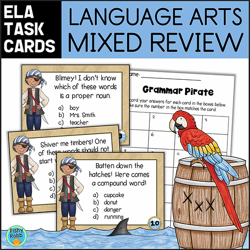 Grammar Review Task Cards