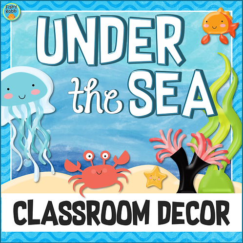 Under the Sea Ocean Theme Classroom Decor