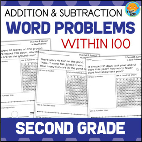2nd Grade Word Problems | Addition and Subtraction within 100