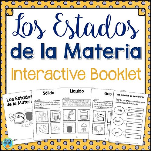 Estados de Materia (States of Matter) Interactive Activity