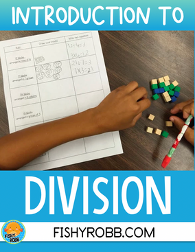 Introduction to Division for 3rd Graders