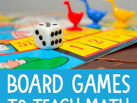 Why Use Games to Teach Math?