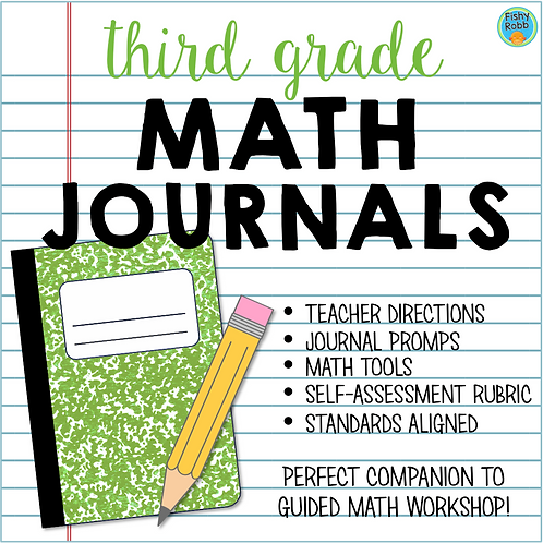 Third Grade Math Journals