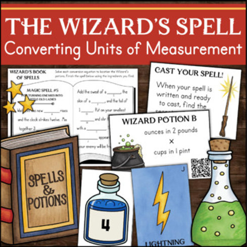 Measurement Conversion Customary and Metric Units Math Activity