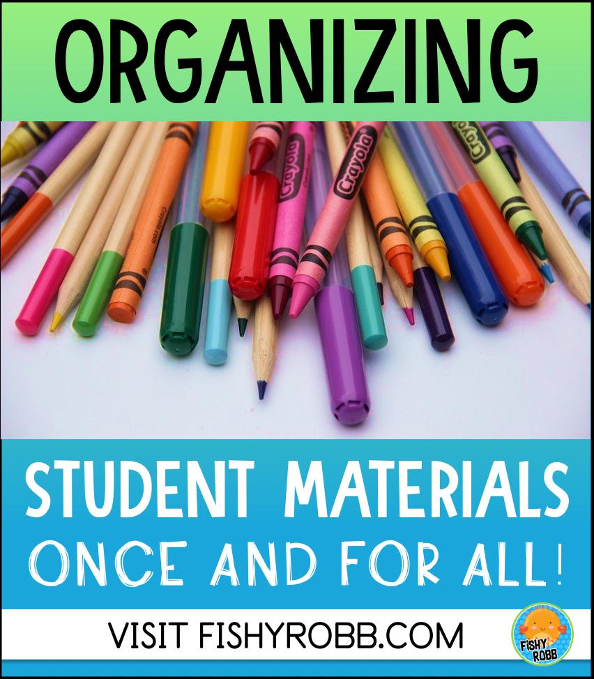 organizing student materials