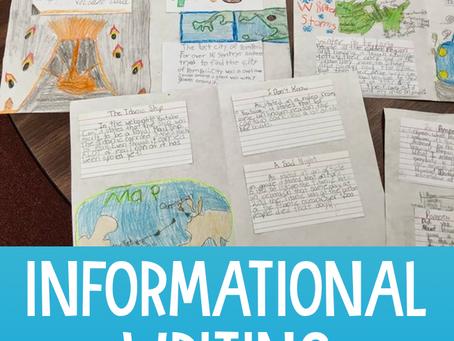 Engaging Kids in Informational Writing