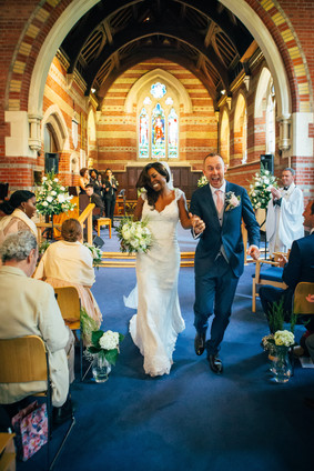 Married in Sway Hampshire