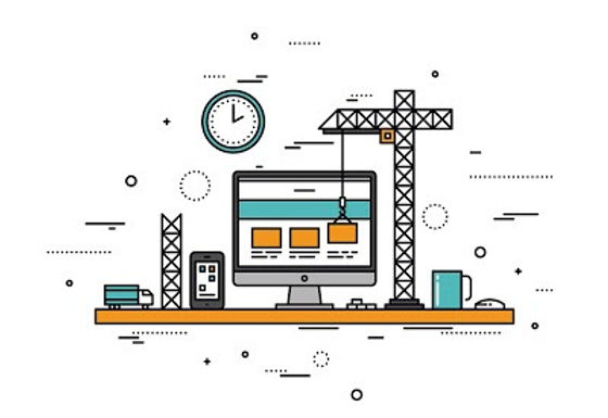 website_building_modern_line_style_web_construction_creative_design_development_vector_illustration_