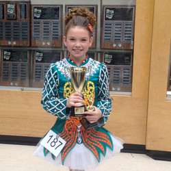 Kendra won 1st