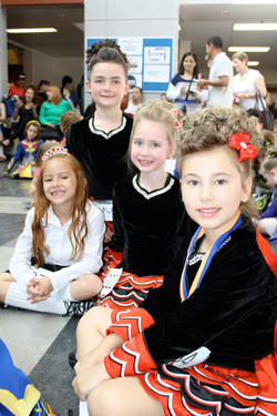 Littles waiting for their awards!