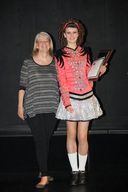 Award of Excellence winner-Danielle!