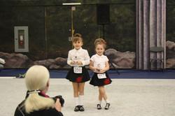 Charlize & Eilidh at their 1st Feis!