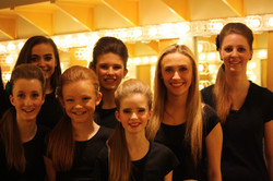 Backstage at Winter Performance 2015