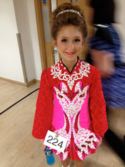 Charli at her first Worlds