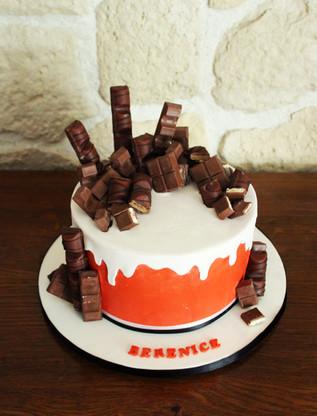 """Gâteau d'anniversaire """"Kinder"""" (kinder bueno, kinder maxi, kinder country)"""