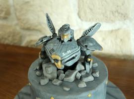 Gâteau personnalisé thème Pacific Rim - Striker Eureka