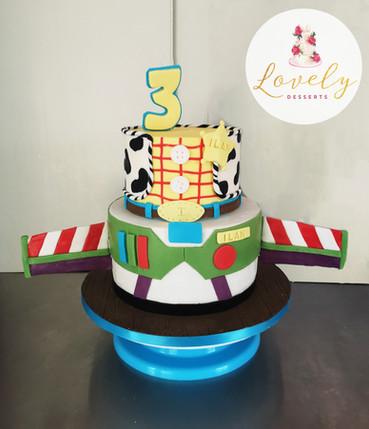 Gâteau thème Toys Story / Buzz / Woody