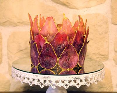 Gâteau personnalisé poire pochées