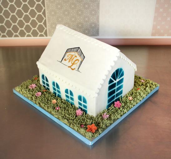 Gâteau d'anniversaire d'entreprise