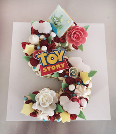 Number cake Thème Toy Story