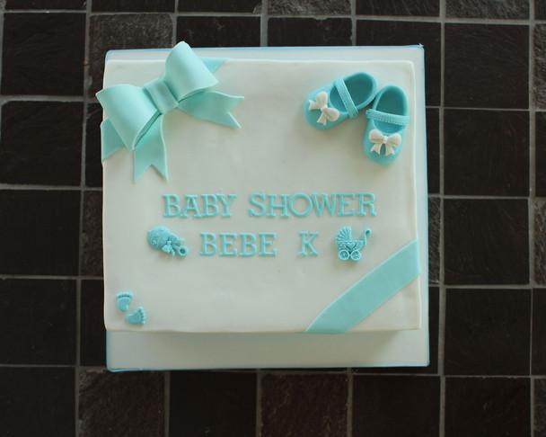 Gâteau pour Baby Shower de petit garçon