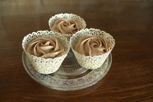 Cupcakes simples vanille chocolat