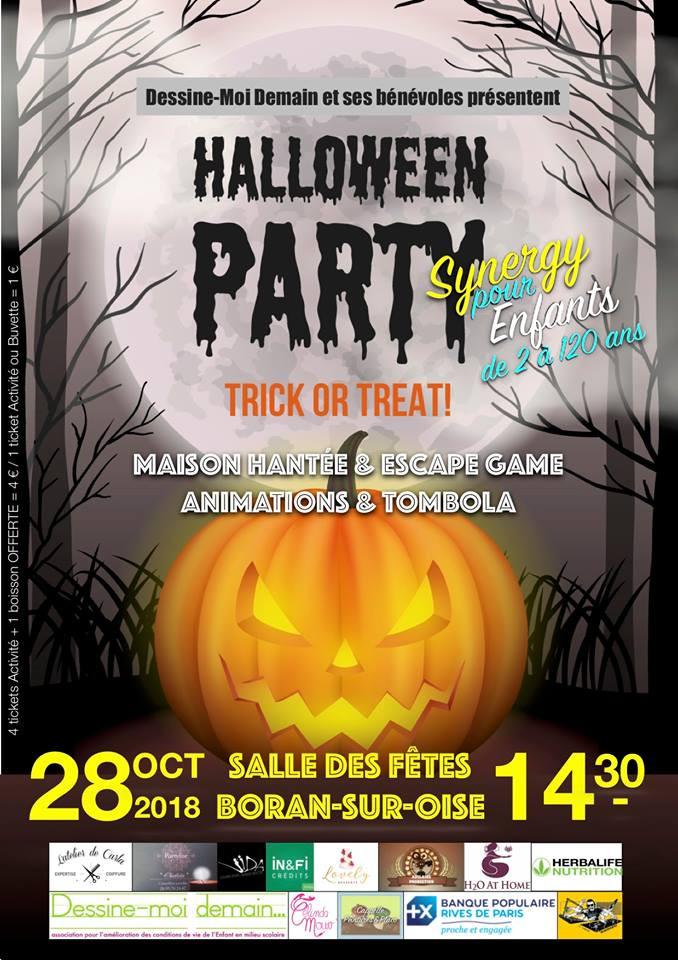 Affiche Halloween by Synergy Boran sur Oise