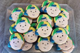 Biscuits décorés caillou enfant