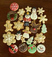 Biscuits décorés de Noël par Lovely Desserts