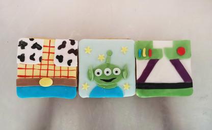 Biscuits décorés thème Toy Story