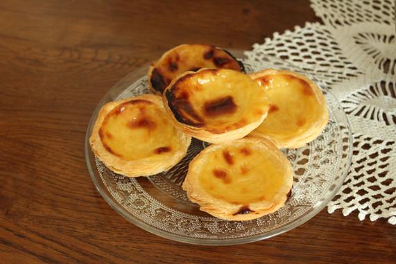 Pasteis de nata / petits flans portuguais